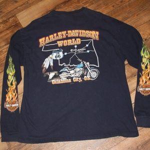 Other - Harley Davidson Oklahoma Shirt